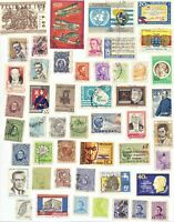 Uruguay 49 older stamps see scan as pictured lot 1
