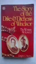 Vintage- The Story of the Duke & Duchess of Windsor - W.Simpson 1975.B&W Photos.