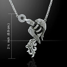 Flying Phoenix .925 Sterling Silver Necklace by Peter Stone