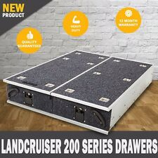 NEW Landcruiser 200 Series Rear Storage Drawers Fridge Slide 4wd Drawer System