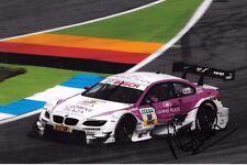 Andy Priaulx firmato Team RBM BMW M3 DTM, DTM Campionato 2012