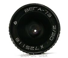 Russian Vega Vega-73 2/20 mm lens. Excellent-.№725118