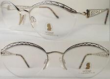 Rare Handmade Neostyle Ladies Optical Frame, Lightweight, Metal, Silver/Gold