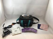 Sony Handycam DCR-DVD505 Camcorder 6Discs,case , Battery, Charger,Stick, Manual