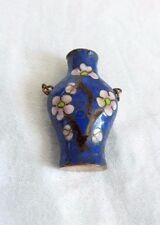 Dolls house Miniature Enamel Vase