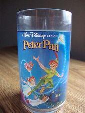 WALT DISNEY BURGER KING COKE COLLECTOR SERIES #4 PETER PAN PLASTIC GLASS