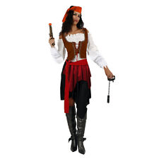 Rodeo Cowgirl Western Wild West Halloween Womens Fancy Dress Up Costume One Size