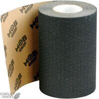 """MOB Griptape Skateboard Grip Tape 9"""" Wide Longboard Old Skool BLACK 9 inch"""