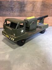VTG Nylint N-2400 Electronic Canon Pressed Steel Military Toy Truck