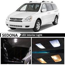 13x White Interior LED Lights Package Kit for 2007-2012 Sedona Van