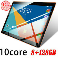10.1 Inch Tablet 8+128G Android 8.0 Bluetooth WiFi 3G PC 2 SIM GPS Double Camera