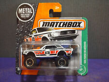 2017 Matchbox Metal '68 FORD MUSTANG Collector No.#124 of 125, Mint Short Card.