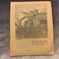 Antique Book Print - Old Government House, Windsor - Sydney Ure Smith - 1917