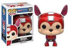 Funko Pop! Rush (Mega Man) figurine en vinyle jeux