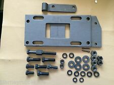 Harley Transmission Mounting Plate Kit Knucklehead UL W/ CP-1035 Bolts 1942-47