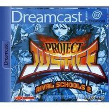 SEGA Dreamcast Spiel - Project Justice Rival Schools 2 mit OVP NEUWERTIG