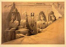 Abu Simbel Temple - Front View - Egyptian Art - Handmade Oil Painting On Canvas