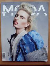 VIVA! Moda, Polish Magazine, Summer 2011, KAROLINA KURKOVA on front cover