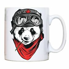 Cool panda illustration design mug coffee tea cup