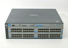HP ProCurve 4204vl J8770A Modular Switch w/ 4x J8768A 10/100/100 T Ports IEEE