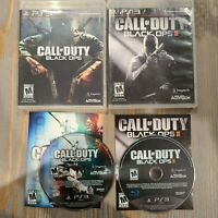 Lot of 2 PS3 Playstation 3 Games - Call of Duty Black Ops 1 & 2 - CIB Complete
