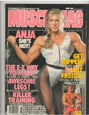 MUSCLEMAG bodybuilding muscle magazine/Anja Langer 6-89 #85