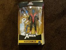 Marvel Legends NEW Nightcrawler  BAF Wendigo Wave Action Figure