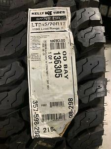 1 New LT 245 70 17 LRE 10 Ply Kelly Safari TSR Mud Tire