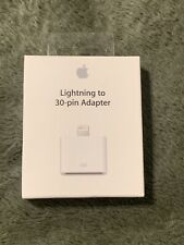 🔥New Genuine Apple Lightning to 30-pin Adapter MD823ZM/A OEM Apple In Hand!🔥