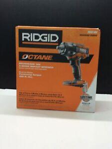 RIDGID Octane 18V Brushless 4-Mode Impact Driver TOOL-ONLY R86011B BRAND NEW