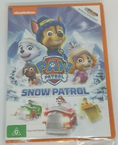Paw Patrol - Snow Patrol (DVD, 2018) NEW