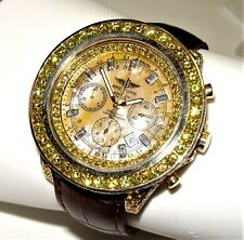 Breitling Bentley H25362 Special Edition # 735 chronograph with diamonds