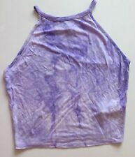 Newlook Age 12-13 Purple Tye Dye Summer Top