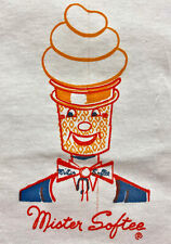 Vintage 70s Mister Softee Ice Cream Truck Hanes T Shirt Deadstock Nos sz Large L