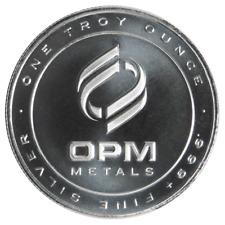 1 Troy oz. OPM .999 Fine Silver Round