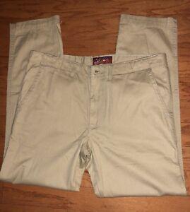 Arizona Jean Company Men's Relaxed Straight Leg Classic Khaki Jeans 36 x 32 In