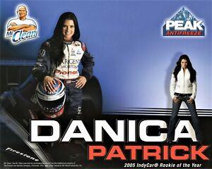 2005 - IRL  Racing Rookie of the Year Hero Card - Danica Patrick