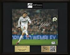 Cristiano Ronaldo, Real Madrid, SOQR CHAMPIONS Display, autographed photo & CoA