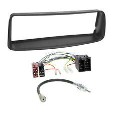 Peugeot 206 98-07 1-DIN Autoradio Einbauset Adapter Kabel Radioblende