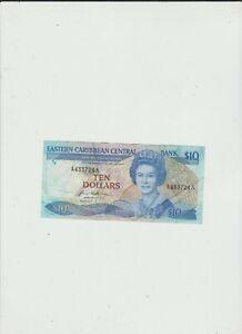 EAST  CARIBBEAN  10  DOLLARS