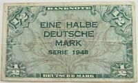 GERMANY 1/2 MARK 1948  #alb19 045
