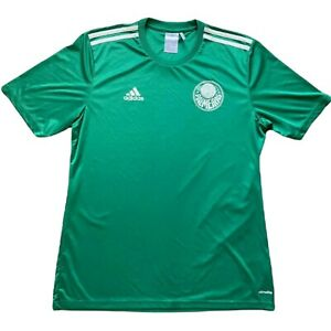 Adidas Palmeiras Soccer Jersey 2015 Size Large Green