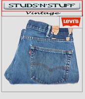 """VINTAGE LEVIS 505'S REGULAR FIT JEANS  W38"""" L32"""" APROX SIZE UK  18 (T116)"""