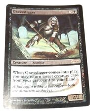 MTG Gravedigger/Black/Creature Zombie/DCI FOIL PROMO/Magic The Gathering