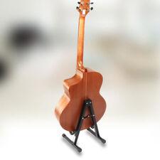 Folding Electric Acoustic Bass Tripod Guitar Stand Gig Floor Rack Holder AU