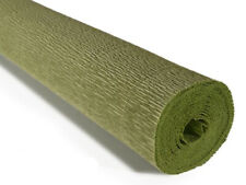 Crepe paper roll 180g (50 x 250cm) Sage Green (shade 562)