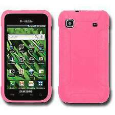 AMZER Baby Pink Silicone Skin Case for Samsung Galaxy S T959V I9000 Vibrant T959