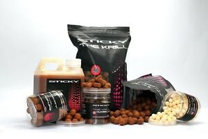 STICKY BAITS THE KRILL FULL RANGE BOIIES-POP UPS-GLUGS-PELLETS-WAFTERS