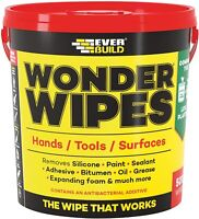 Everbuild Wonder Wipes Giant 500 Tub MONSTERW  Multi Purpose / Hand Cleaning