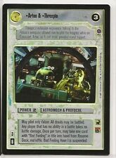 Star Wars CCG Reflections III Ref III Foil SRF Artoo & Threepio